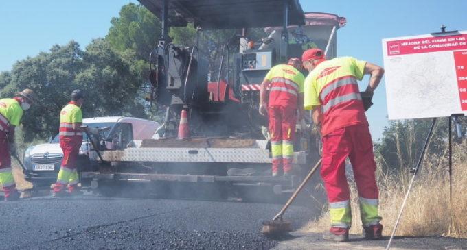 La Comunidad de Madrid mejora 384 kilómetros de carreteras en la campaña de firmes 2020