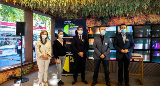 La Comunidad de Madrid organiza la XVI edición de La Noche de los Libros con la participación de 600 autores