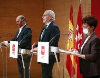 La Comunidad de Madrid paralizará la actividad a partir del sábado 24 de 00:00 a 06:00 horas.