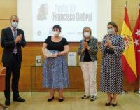 La Comunidad de Madrid participa en la entrega del X Premio Francisco Umbral a la escritora Elena Medel