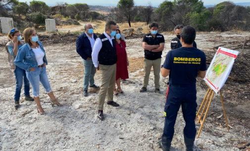 Puesta en común del protocolo de coordinación de gestión de incendios con los municipios afectados por el fuego de Almorox