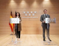 La Comunidad de Madrid presenta un ambicioso Plan para la Reactivación tras el COVID-19