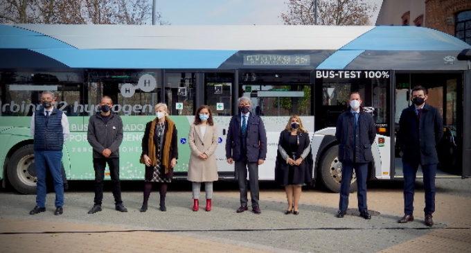 Por primera vez se prueba en la Comunidad de Madrid un autobús de hidrógeno en trayectos interurbanos