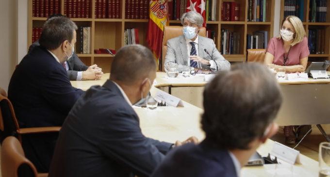La Comunidad de Madrid ratifica su compromiso con el sector del transporte ante la crisis por el COVID-19
