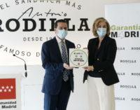 La Comunidad de Madrid reconoce el esfuerzo de la hostelería para implementar medidas de seguridad frente al COVID