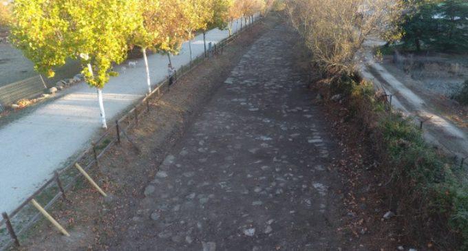 La Comunidad de Madrid recupera el entorno de la Calzada Romana de Galapagar
