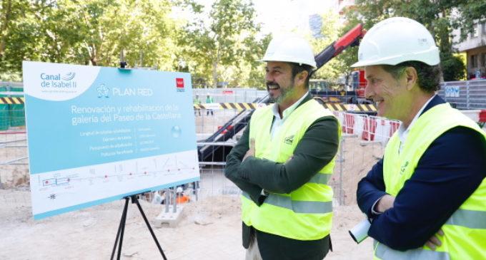 La Comunidad de Madrid renueva con el Plan RED hasta 3.200 kilómetros de tuberías de agua
