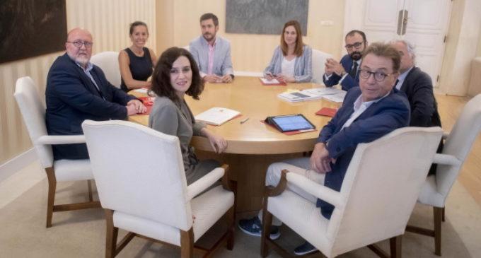 La Comunidad de Madrid renueva su compromiso de diálogo con los agentes sociales
