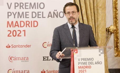 La Comunidad de Madrid respalda la labor de las pymes madrileñas, generadoras de riqueza y empleo