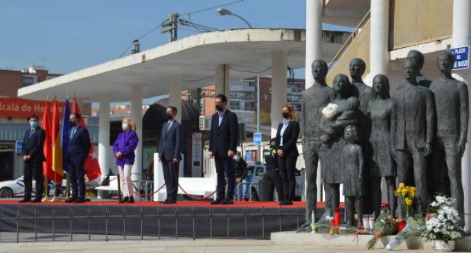 Madrid rinde homenaje a las víctimas del 11-M en Alcalá de Henares