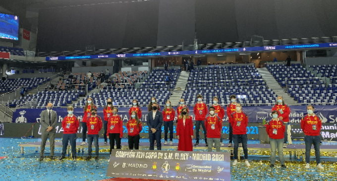 La Comunidad de Madrid se consolida como sede del mejor deporte con la final de la Copa del Rey de Balonmano 2021