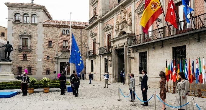 La Comunidad de Madrid se suma al acto institucional por la conmemoración del Día de Europa