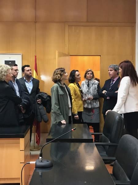 La comunidad de madrid unifica los juzgados de aranjuez en for Juzgados de aranjuez