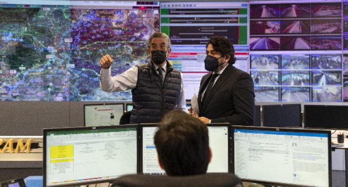 La Comunidad de Madrid verifica el buen funcionamiento de la red de transportes con más de 10.000 cámaras