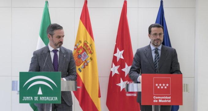 La Comunidad de Madrid y Andalucía comparten su experiencia en materia de gestión tributaria