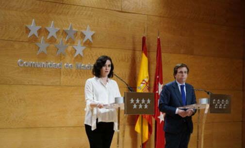La Comunidad de Madrid y el Ayuntamiento de la capital activan el Plan Territorial de Protección Civil