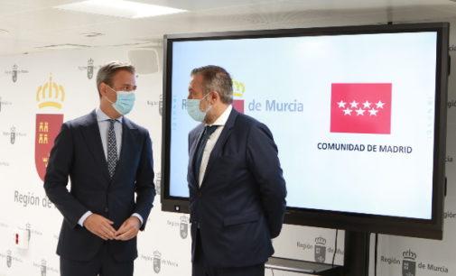 La Comunidad de Madrid y la Región de Murcia apuestan por la seguridad jurídica y la coordinación para combatir la pandemia