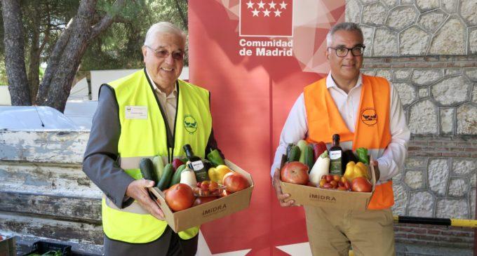 La Comunidad destina excedentes de cultivos del IMIDRA a las personas más necesitadas