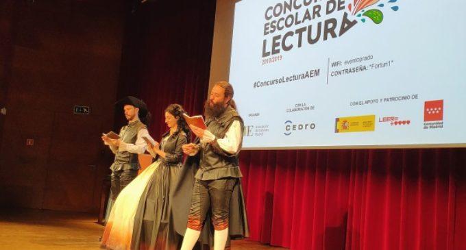 Entrega de los premios del Concurso Escolar de Lectura 2018/2019