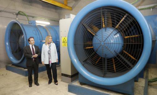 La Comunidad estrena un nuevo sistema de gestión inteligente de ventilación de las instalaciones de Metro