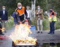 Madrid expresa su orgullo por los futuros voluntarios de las Agrupaciones de Protección Civil