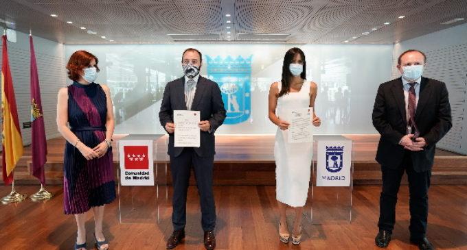 Primer convenio de colaboración del Ayto. de Madrid  y la Comunidad en materia de empleo