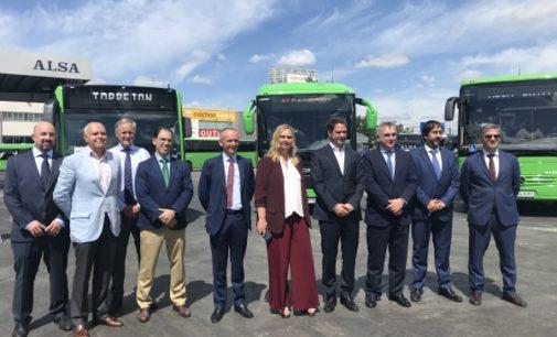 La Comunidad ha renovado casi la mitad de la flota de autobuses interurbanos de la región