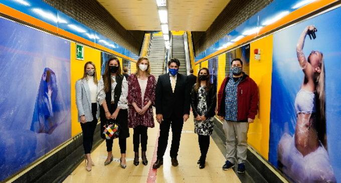 La Comunidad muestra la exposición fotográfica #DanzaxAgua en la estación de Metro de Canal