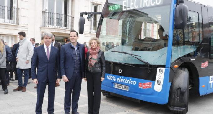 La Comunidad pondrá en marcha el primer autobús 100% eléctrico en la flota interurbana del Consorcio