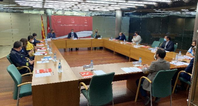 La Comunidad presenta su Plan de Pandemias a los miembros de la Comisión Regional de Protección Civil