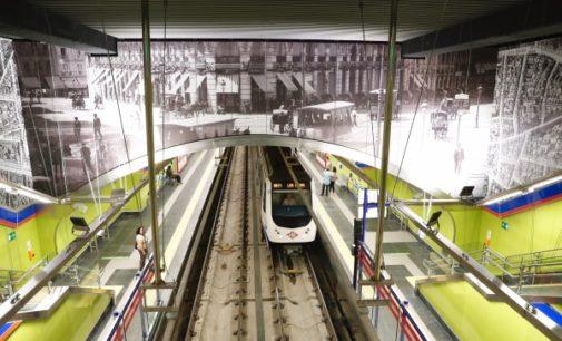 La Comunidad reabre la línea 2 de Metro en el tramo Retiro-Sol y estrena la renovada estación de Sevilla