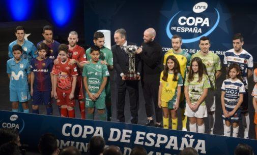 La Comunidad de Madrid reunirá a los ocho mejores equipos de España en la Copa Nacional de Fútbol Sala 2018