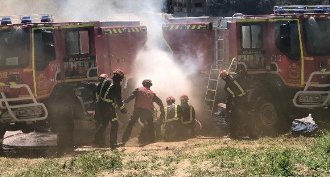 El Cuerpo de Bomberos debe tener la máxima preparación y seguridad para afrontar los incendios forestales