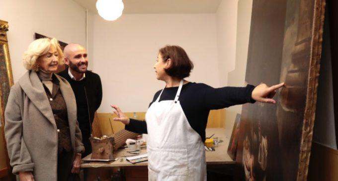 La Comunidad trabaja en la restauración de la iglesia de las Carboneras de Madrid