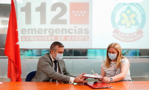 La Comunidad y el Ayuntamiento de Madrid refuerzan la coordinación de sus servicios de emergencias en la sede de la ASEM112