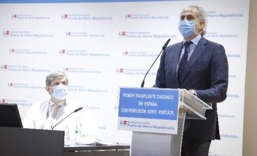 La Sanidad pública madrileña, pionera en utilizar un sistema de perfusión cardiaca portátil para el traslado de corazones que van a ser trasplantados