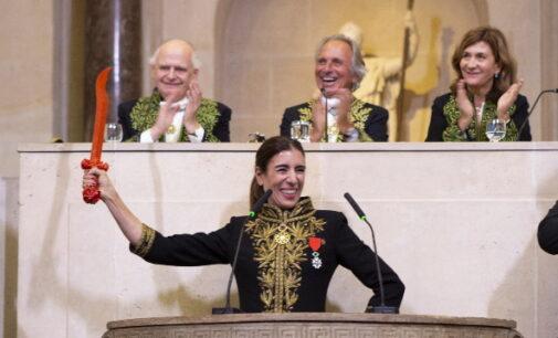 La directora de los Teatros del Canal de la Comunidad de Madrid ingresa en la Academia de Bellas Artes de Francia