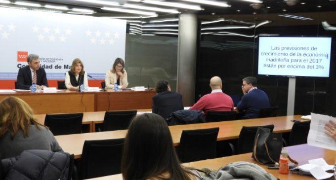 La economía madrileña crece un 3,6 % interanual y encadena cuatro años de crecimiento positivo