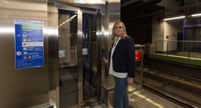 La estación de Metro de Príncipe Pío cuenta desde con dos nuevos ascensores