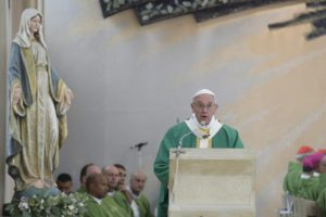 SS. Papa Francesco - Santa Messa chiesa Immacolata-Viaggio Apostolico in Azeirbagian 02-10-2016 @Servizio Fotografico - L'Osservatore Romano