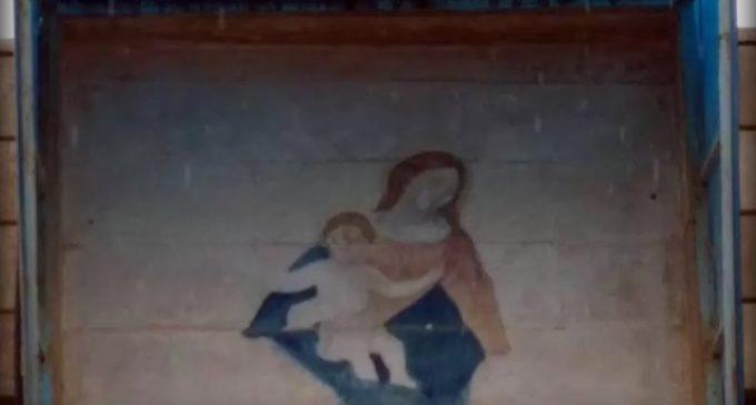 La única imagen de la Virgen María que sobrevivió a la furia del ISIS
