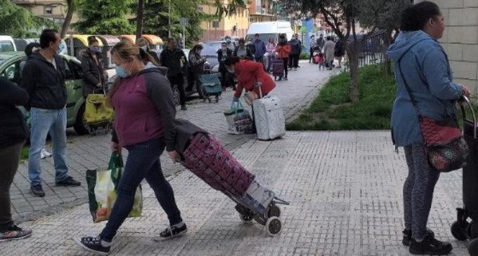Las peticiones de ayuda a Cáritas Diocesana de Madrid se han triplicado con el coronavirus