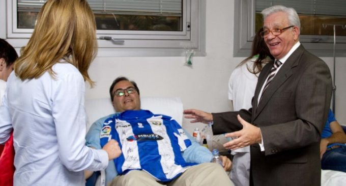 El CD Leganés se suma al XII Maratón de Donación de Sangre del Hospital Universitario Severo Ochoa