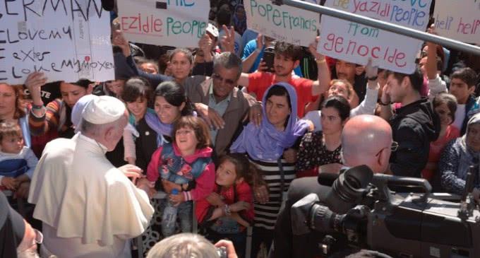Viaje apostólico y ecuménico del Papa Francisco a la isla griega de Lesbos