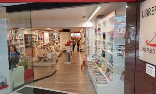 Las librerías SAN PABLO de Madrid renuevan sus instalaciones