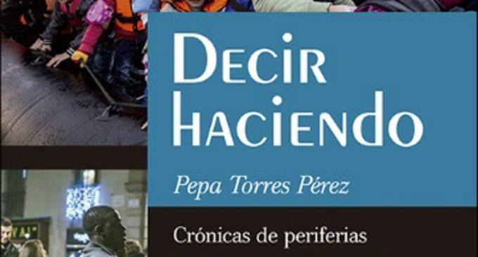 """Pepa Torres presenta en Madrid su libro """"Decir haciendo"""" editado en SAN PABLO"""