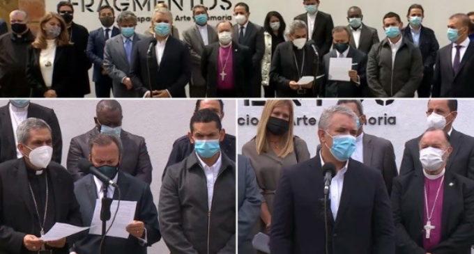 Colombia: Líderes religiosos exhortan al gobierno a dialogar para salir de la crisis