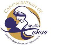 En India diseñan el logo para la canonización de Madre Teresa