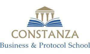 Logotipo Constanza Business & Protocol School
