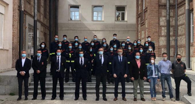 Concluye en la Comunidad de Madrid la formación de 28 nuevos operadores del Cuerpo de Bomberos